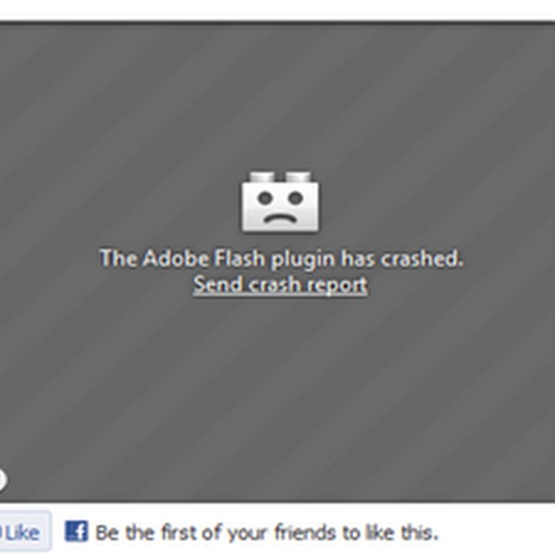 แก้ปัญหา Flash Error ทำให้ บราวเซอร์ Firefox ไม่สามารถดู Videoได้