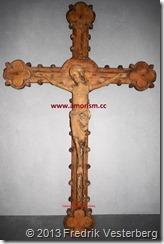 DSC02524 (1) Krucifix bättrat beskuret med amorism