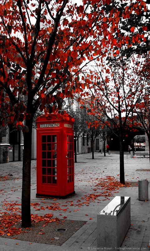 Telefonzelle, England
