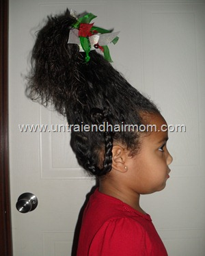 Cindy Lou Who Hair style