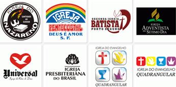 Logotipos de igrejas evangélicas brasileiras