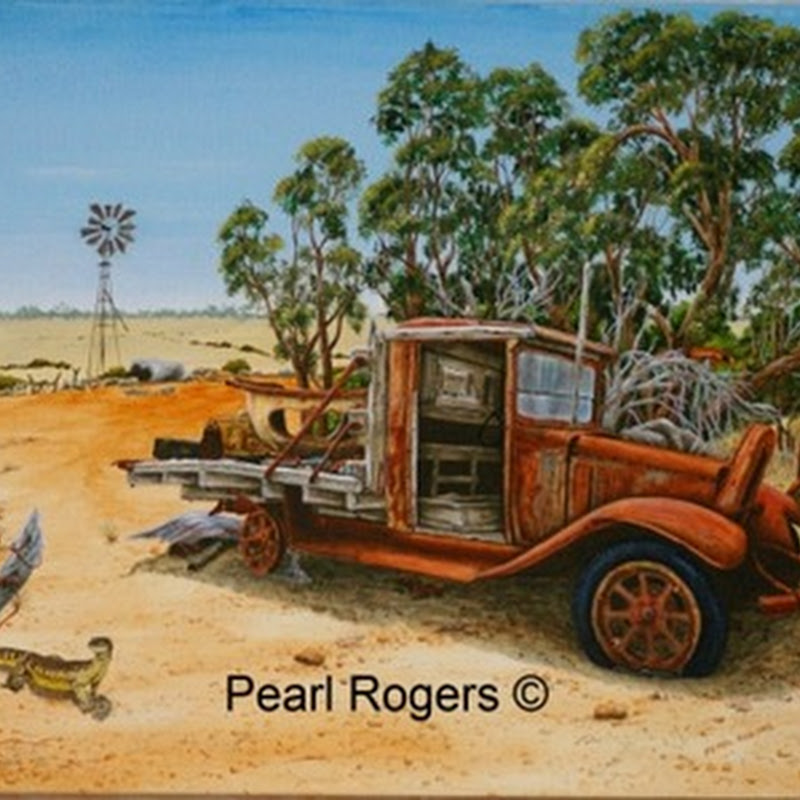 Pearl Rogers - Rustic Rural and Wildlife Artist