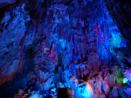 Excursie in China: Reed Flute Cave Guilin