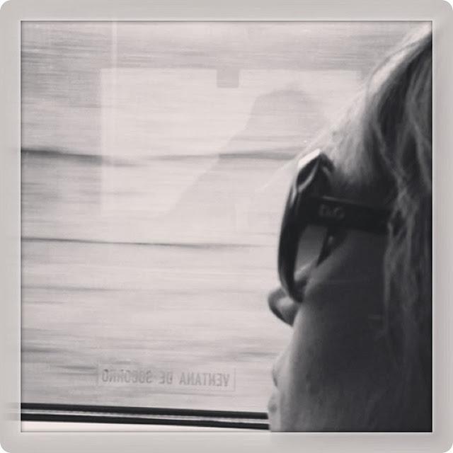 Train dreaming...