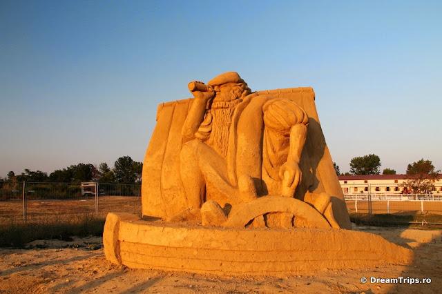 sculpturi nisip Burgas Cristofor Columb.JPG