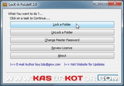 Cara Cepat Melindungi File dan Foder dengan Password