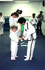 Kayla's First Promotion to Yellow Stripe