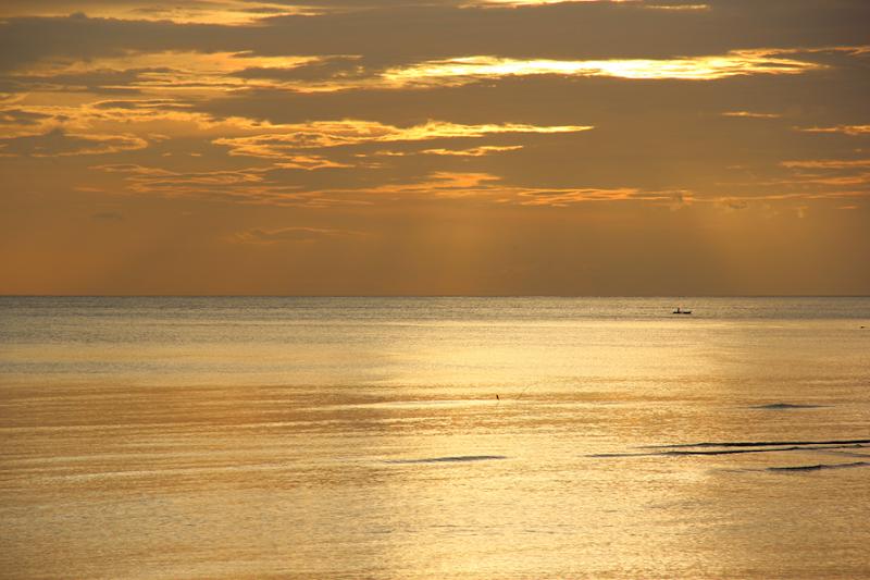 solnedgång Bohol