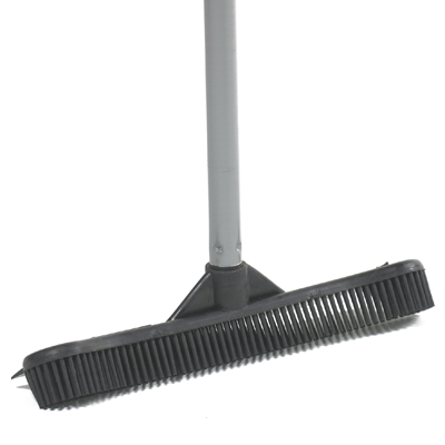 This broom is good for cleaning up both dry and wet messes, and messes with a little bit of both. (containerstore.com)