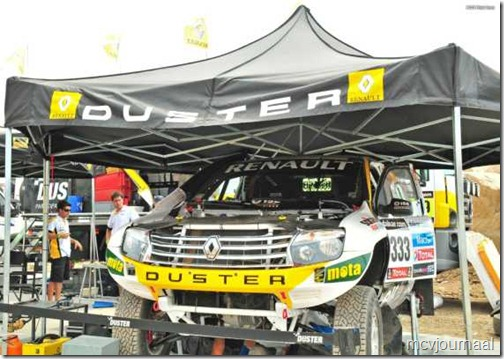 Dakar Rally Renault Duster 11
