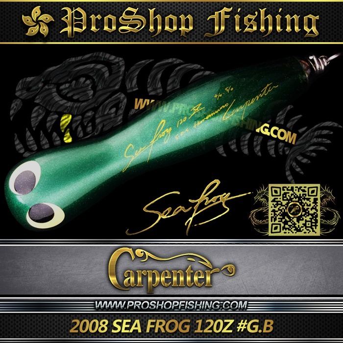 carpenter 2008 SEA FROG 120Z #G.B.2