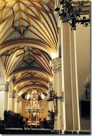 Lima cathedral 1