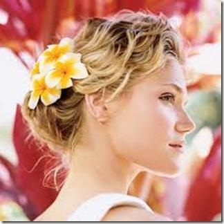 peinado sencillo para boda en la playa 2013