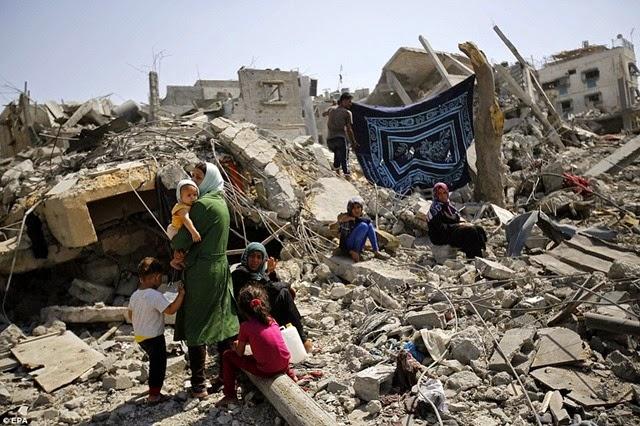 homeless in gaza