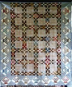 free basket quilt