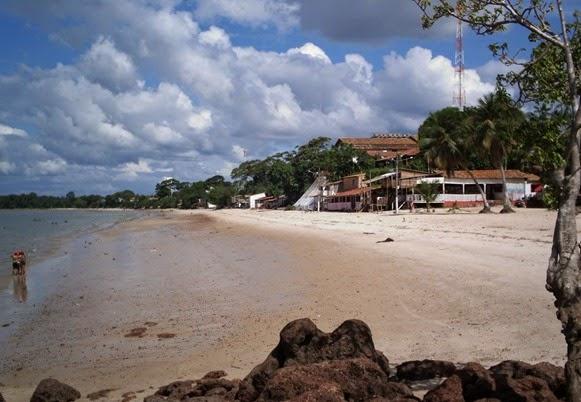 Praia da Vila do Conde - Barcarena, Parà