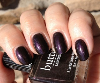 butter LONDON Branwen's Feather 4
