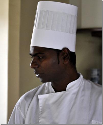 chef Rooshan Bandoo