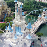 Lotte World castle in Seoul, Seoul Special City, South Korea