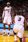 lebron james nba 130125 mia vs det 02 Boston Outlasts Miami in 2nd OT. LeBron Debuts Suede X PE!