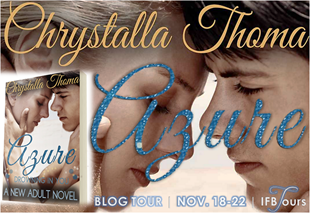 {Review+Giveaway} Azure by Chrystalla Thoma