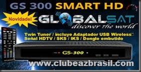 NOVA ATUALIZAÇÃO GLOBALSAT GS300 HD