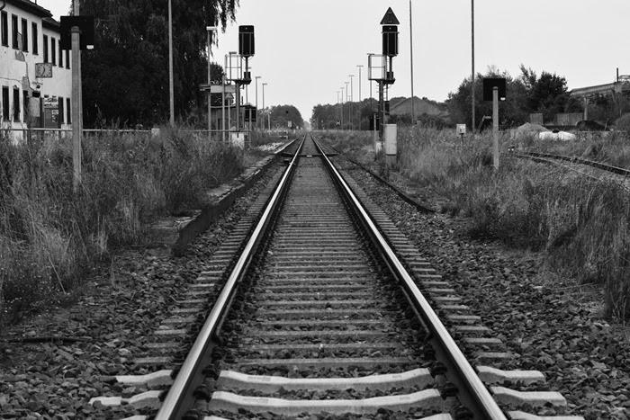 Gorgast traintracks