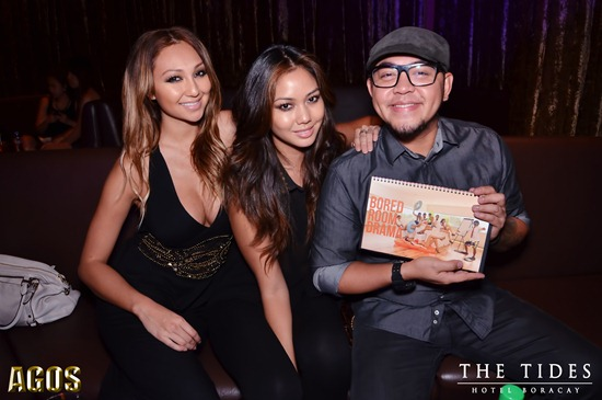 Melissa Fisher & Mica Javier with photographer Xander Angeles
