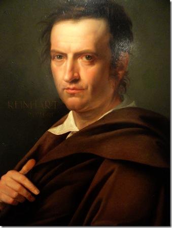 José de Madrazo - Johann Christian Reinhart por  1812  Roma  Accademia Nazional di San Luca