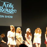 Ank Rouge fashion show in Shibuya, Tokyo, Japan