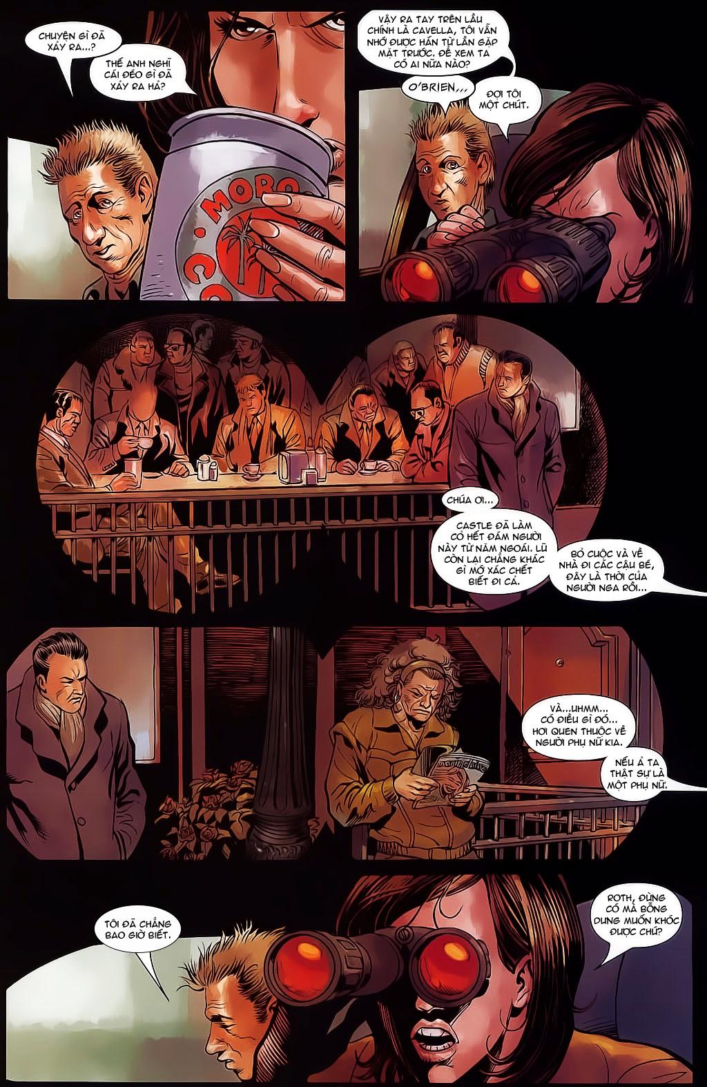 The Punisher: Trên là Dưới & Trắng là Đen chap 4 - Trang 12