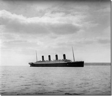 Titanic off Roche's Point
