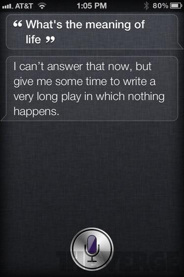 Koleksi soal-jawab dengan Siri yang pelik-pelik