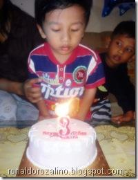 Berkah Hari Ulang Tahun  Violino Ridho Putra ke 3 Tahun