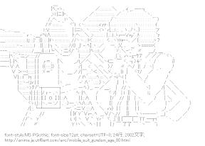 [AA]ジェノアス & ラーガン・ドレイス (機動戦士ガンダムAGE)