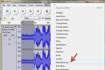 ฟรีแวร์ตัดเสียงรบกวนในการอัดเสียง