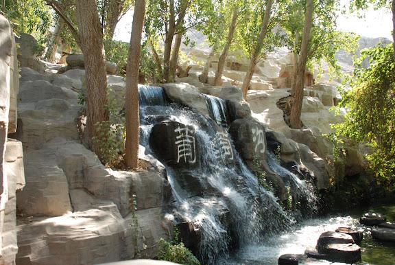 Turfan - Putaogou cascade