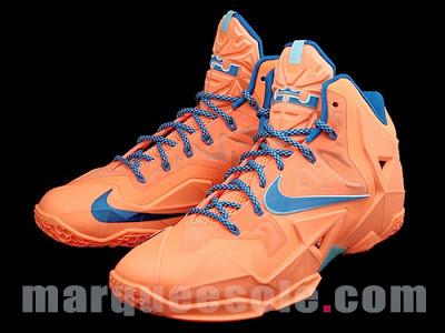 nike lebron 11 gr hardwood knicks 1 02 First Look at Nike LeBron 11 Hardwood Classic / Knicks