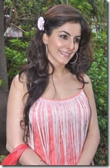 Actress Isha Talwar at Thillu Mullu Movie Press Meet Stills