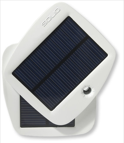 The Solio Bolt Solar Charger will charge virtually any device that has a USB port and it looks really cool too.