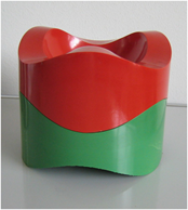 84030 Sinus ashtray, stacked