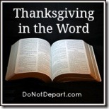 Thanksgiving in the Word