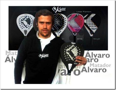 Alvaro matador jugador padel madrid 2012