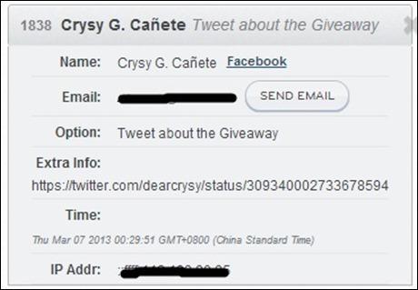 CreamSilk Giveaway Winner1 CrysyCanete