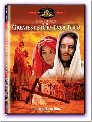 Imagem da Capa do DVD do filme A Maior História de Todos os Tempos (The Greatest Story Ever Told)