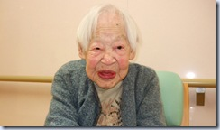 JAPAN WORLD'S OLDEST WOMAN