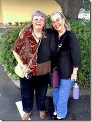 Geri and Paula