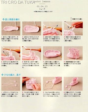 touca e sapatinhos d