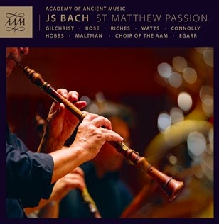 CD REVIEW: Johann Sebastian Bach - MATTHÄUS-PASSION, BWV 244 (AAM Records AAM004)