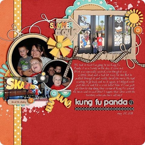 Layout by Laurel Lakey uses: Backyard Play Collection A Wizarding World Collection A Life So Sweet Collection Little Apple School Collection My Life & Story Collection In For the Ride Collection Silly Silly Bo Billy Collection